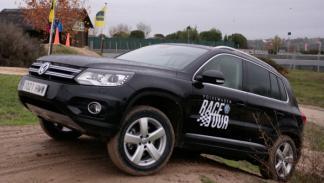 Volkswagen Race Tour 2012 Tuareg Terrain Tech