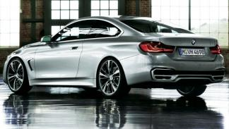 BMW Serie 4 Coupé, trasera