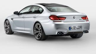 BMW Serie 6 Grand Coupe trasera