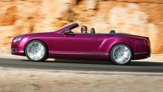 Bentley Continental GT Speed Convertible lado