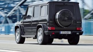 Mercedes G 63 AMG, trasera