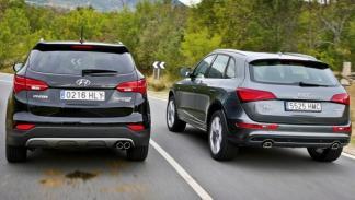 Audi Q5 2.0 TDI vs Hyundai Santa Fe 2.2 CRDi