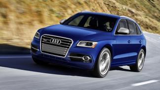 Audi SQ5 TFSI frontal