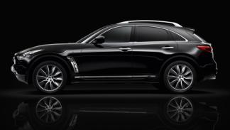 Infiniti FX 'Black&White' Edition, Obsidian Black