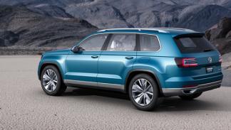 Volkswagen CrossBlue trasera salon detroit 2013