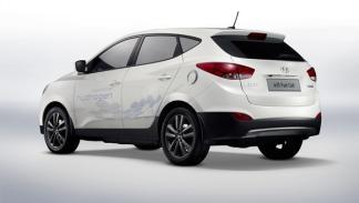 Hyundai ix35 Fuel Cell trasera