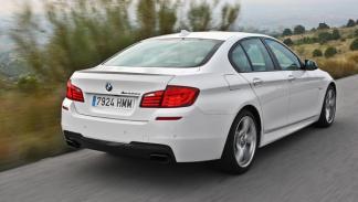 BMW M550d xDrive prestaciones