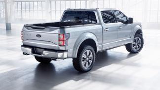 Ford Atlas Concept trasera