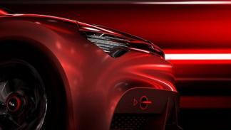 Kia Concept morro delantero Salón de Ginebra 2013