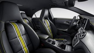 Mercedes CLA Edition 1 interior