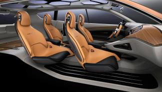 Kia Cross GT SUV habitáculo