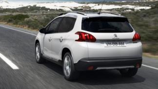 Peugeot 2008, dinámica