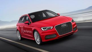 Audi A3 e-tron frontal salon de ginebra 2013