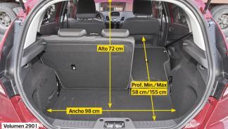 Ford Fiesta 5p 1.6 TDCi 95 CV interior maletero