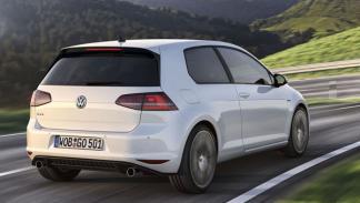 Volkswagen Golf GTI 7 dinámica trasera