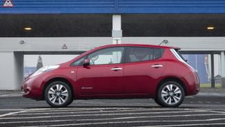 Nissan Leaf 2013 lateral