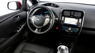 Nissan Leaf 2013 interior