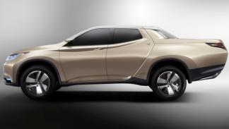Mitsubishi GR-HEV Concept, perfil