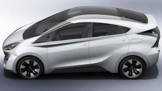 Mitsubishi CA-MIEV Concept lateral