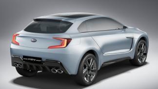 Subaru Viziv Concept trasera