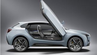 Subaru Viziv Concept puerta