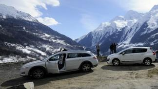 Peugeot Hybrid4 alpes val d'isère