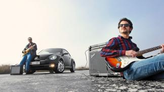 Volkswagen Beetle Fender Edition guitarras