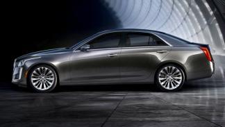 Cadillac CTS 2014 perfil