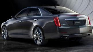 Cadillac CTS 2014 trasera
