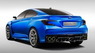 Subaru WRX Concept 2013 trasera