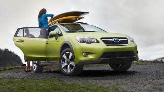 Subaru XV Crosstrek Hybrid, frontal