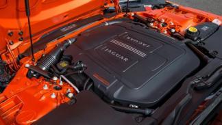 Motor del Jaguar F-Type
