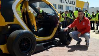 Renault Twizy Renault Sport F1 ruedas