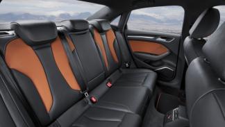 A3 Sedan interior trasera