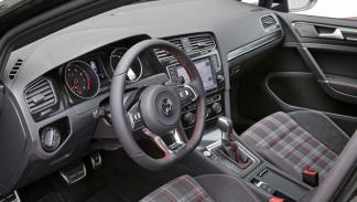 Volkswagen Golf GTI 7 interior salpicadero asientos tapicería cuadros Clark
