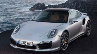 Porsche 911 Turbo y Turbo S tres cuartos delantero estática