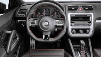 El Volkswagen Scirocco Million interior