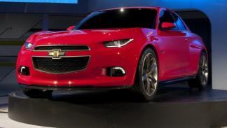 Chevrolet Code 130R Concept parrilla