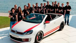Volkswagen Golf GTI Cabrio Austria estudiantes