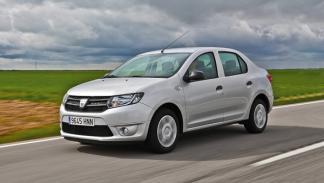 Delantera del Dacia Logan 2013