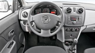 Interior del Dacia Logan 2013