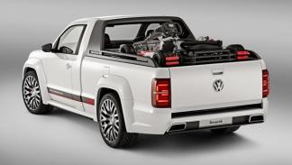 Volkswagen Amarok Power-Pickup trasera