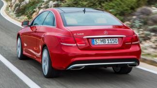 Mercedes Clase E Coupé 2013 trasera