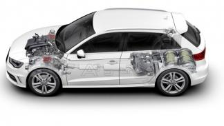Audi A3 Sportback g-tron emisiones