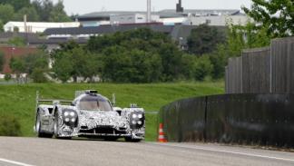 Porsche LMP1 pista