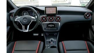 Mercedes Clase A 45AMG salpicadero