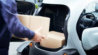 Renault Twizy Cargo maletero