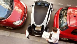 Renault Twizy Cargo aparcado