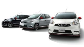 Nissan Micra Nismo gama colores