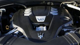 Nuevo Maserati Ghilbi detalle, motor V6